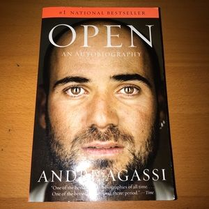 Open (Autobiography by Andre Agassi) (2009) (book)